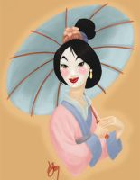 Mulan-Coloring Book by Limlight