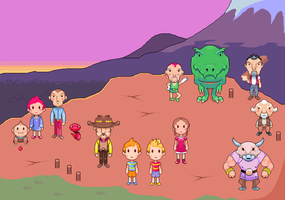 Mother 3 by Pixeldix