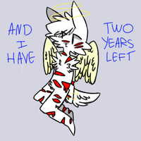 two years left by glitchings