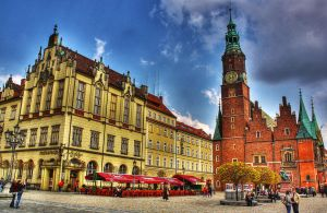 Wroclaw main square I by Athrian