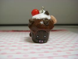 Cake in a Cup-Chocolate Fudge by Hey-Jealousy