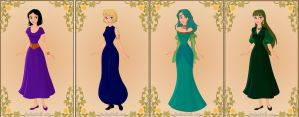 Sailor Moon Outer Princesses by TFfan234
