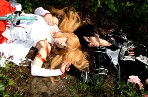 Asuna Kirito Cosplay - Dear love by K-I-M-I