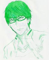 Midorima Shintarou by V13T2K9