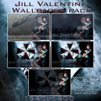 Jill Valentine Wallpaper Pack by Infinityl33t