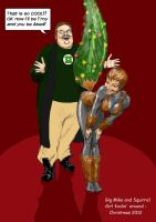 Big Mike's Squirrel Girl Christmas special by Nick-Perks