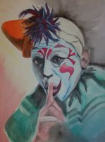 Lon Chaney Laugh Clown Laugh by TTSantana