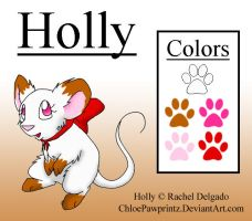 Character Reference- Holly by ChloePawprintz
