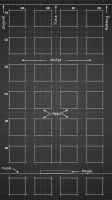 Blueprint Wallpaper for iPhone 6 Plus (Black) by iamj3ra