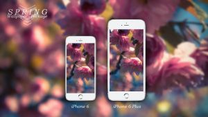 SPRING - Wallpaper Package iPhone 6 / 6 Plus by xSuffocatex