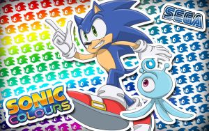 Sonic Colours Wallpaper by ProfessorZolo