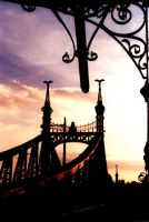 Sunset bridge by dudu