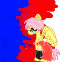 Fluttershy as Fantine by XRadioactive-FrizzX