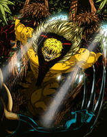 Hero 4: SABERTOOTH! COLORED! by nork