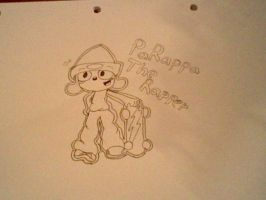 Random Duuuuuuudle of PaRappa by Music-Lovette123