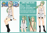 [One Piece OC] Constance Black by CandyPiie