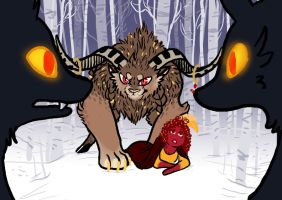 Pome and the beast by Rockinyourbrainoff