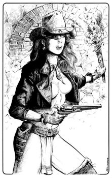 CowGirl by maknbacon