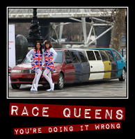 British Race Queens by truemouse