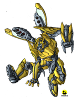 bumblebee-halo by micky86