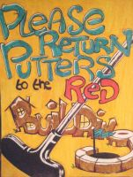 Putter Sign by hollrock