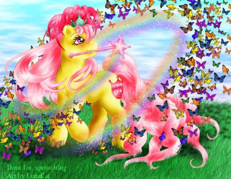 Butterfly Magic by FlyingPony