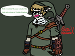 Ladies Man Link Contest Entry - Twilight Markimoo by BritishBronyReviewer