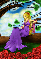 Coloring contest entry by December012