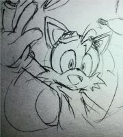 Tails : pencil pict by hitosan