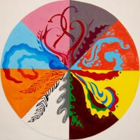 Color Scheme Wheel by phiro3