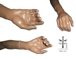 Mannequin Hand by TheoGothStock