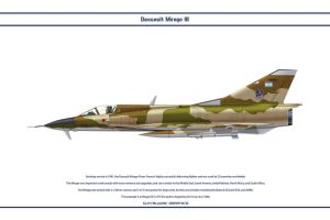 Mirage III Argentina 1 by WS-Clave