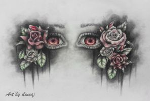 Roses by ilinea