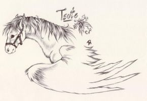 Tsute the Magnificent by HanMonster