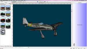 Animation Model- FW190 Fighter by XtremeZee