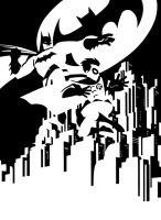 DARK KNIGHT ADVENTURES by PORTELA