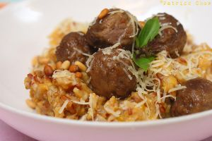 Pumpkin risotto meatballs 1 by patchow