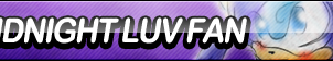 Midnight Luv Fan Button by ButtonsMaker