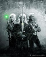 Trio-Istochath Vaults by quickreaver