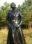 Rubber Alien in the morning wood by RubberJunkie