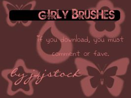 Girly Brushes by j4jstock