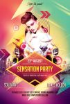 Sensation Party Flyer by styleWish