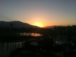 Palm Springs Sunset by redrum201