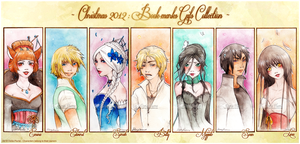 :X-MAS 2012: Bookmark Collection by Doria-Plume