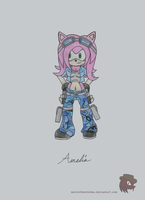 Amelia the Hedgehog by FireheartTheInferno