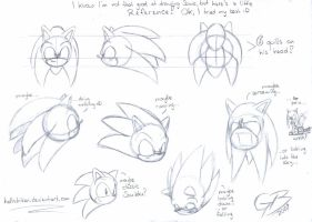 Sonic head reference by hellstriker