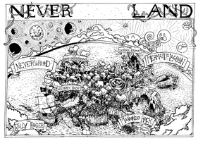 Never Never Land 1 by Hamishmash