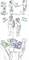 :sketchdump12: the amazing KORRA by ufficiosulretro