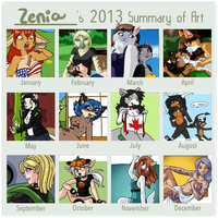 Summary of Art 2013 by zenia