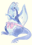 Preggy Amelia (Color) by littlepolka by TheGuyNoOneRemembers